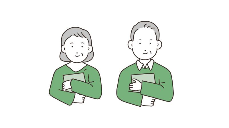 エンディングノートを抱える夫婦