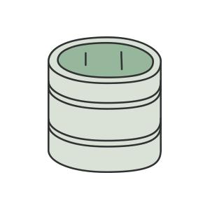 桶型の座棺